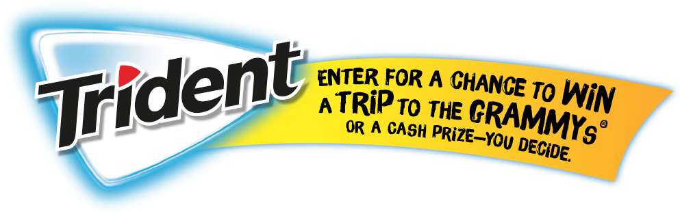 Trident. Enter for a chance to win a trip to the Grammys.®