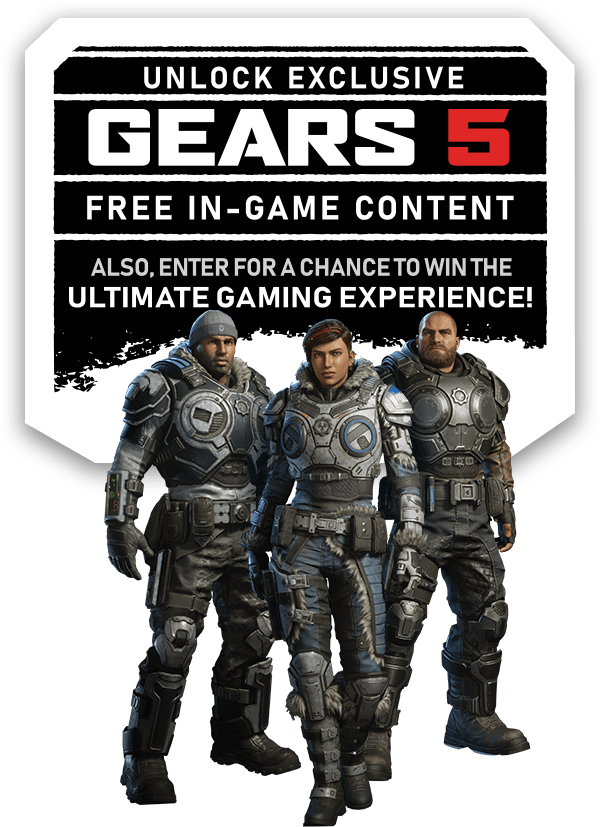 Lockup: Unlock Exclusive GEARS 5 Free In-Game Content